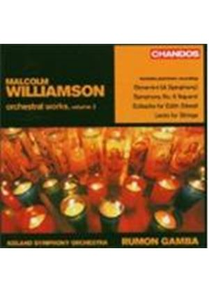 Malcolm Williamson - Orchestral Works Volume 2 (Gamba, Iceland SO) (Music CD)