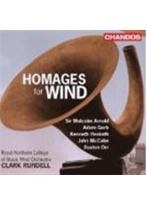 Various Composers - Homages For Wind (Rundell) (Music CD)