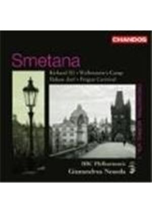 Bedrich Smetana - Richard III, Wallensteins Camp (Noseda, BBC Philharmonic) (Music CD)