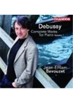 Claude Debussy - Complete Works For Solo Piano Vol. 1 (Bavouzet) (Music CD)