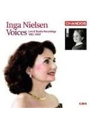 Inga Nielsen - Voices - Live And Studio Recordings 1952 - 2007 (Music CD)