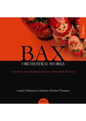 Arnold Bax - Orchestral Works Vol. 9 (Thomson, LPO) (Music CD)