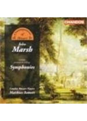John Marsh - Symphonies (Bamert, London Mozart Players) (Music CD)