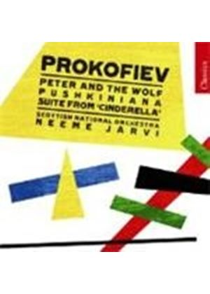 Sergey Prokofiev - Peter And The Wolf, Pushkiniana (Jarvi, Scottish NO)