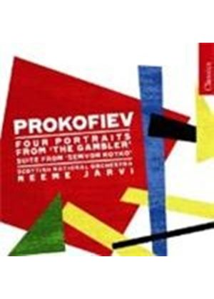 Sergey Prokofiev - Four Portraits From The Gambler (Jarvi, Scottish NO)
