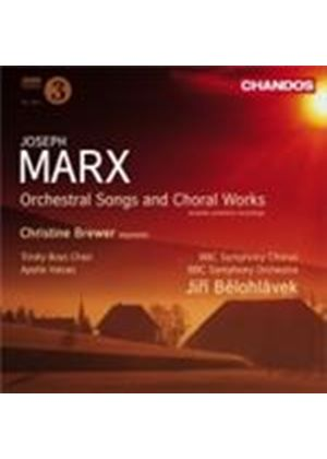 Marx: Chorus and Orchestra Works (Music CD)