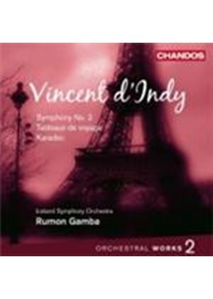 D\'Indy: Orchestral Works Vol. 2 (Music CD)