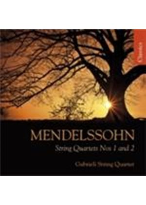 Mendelssohn: String Quartets Nos 1 & 2 (Music CD)