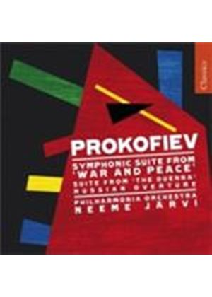 Prokofiev: War and Peace (Music CD)