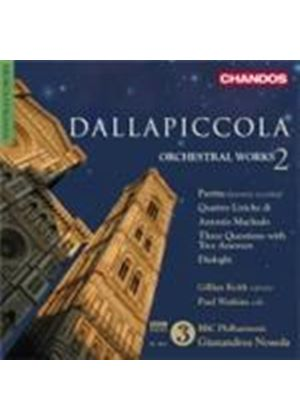 Dallapiccola: Orchestral Works Vol.2 (Music CD)