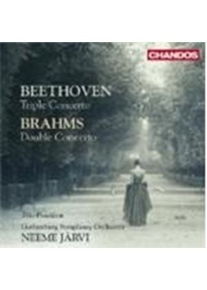 Beethoven: Triple Concerto; Brahms: Double Concerto (Music CD)