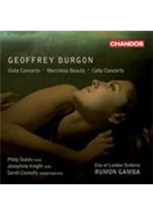 Burgon: Viola Concerto; Cello Concerto; Merciless Beauty (Music CD)