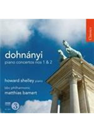 Dohnanyi: Piano Concertos Nos 1 and 2 (Music CD)