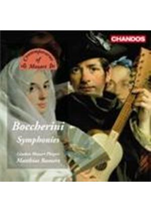 Boccherini: Symphonies Nos 3, 8 and 21 (Music CD)