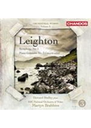 Leighton: Symphony No 1; Piano Concerto No 3 (Music CD)
