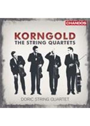 Korngold: String Quartets Nos 1-3 (Music CD)