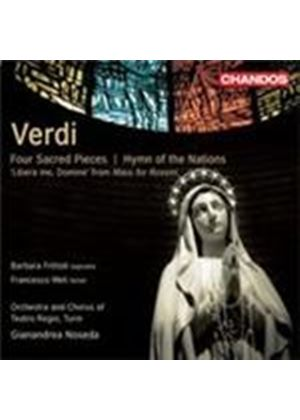 Verdi: Four Sacred Pieces (Music CD)