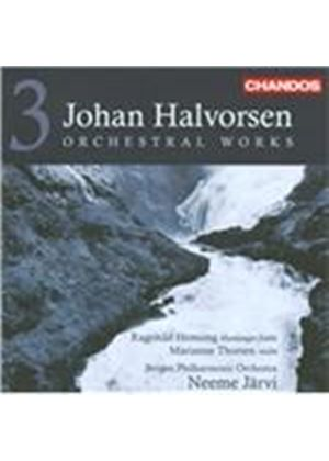 Johan Halvorsen: Orchestral Works, Vol. 3 (Music CD)