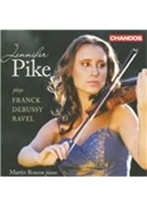 Jennifer Pike Plays Franck, Debussy & Ravel (Music CD)