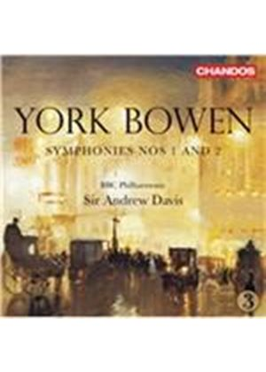 York Bowen: Symphonies Nos. 1 and 2 (Music CD)
