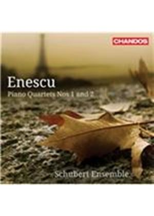 Enescu: Piano Quartets Nos. 1 & 2 (Music CD)