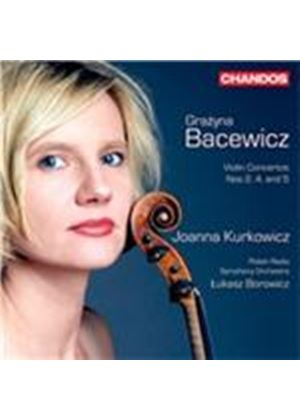 Grazyna Bacewicz:  Violin Concertos Nos. 2, 4 and 5 (Music CD)