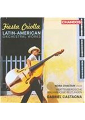 Fiesta Criolla: Latin American Orchestral Works (Music CD)