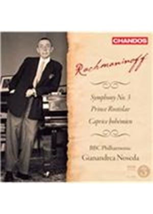 Rachmaninoff: Symphony No. 3; Prince Rostislav; Caprice Boh�mien (Music CD)