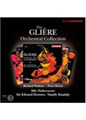 Gli�re Orchestral Collection (Music CD)