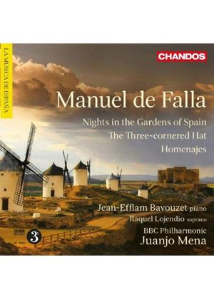 Manuel de Falla: Nights in the Garden of Spain (Music CD)