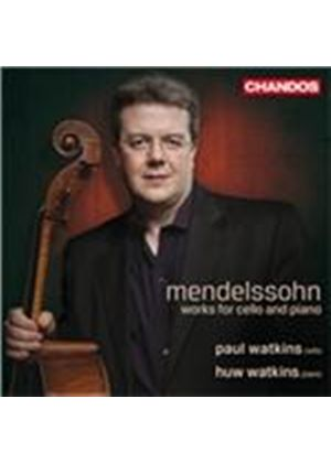 Mendelssohn: Works for Cello and Piano (Music CD)