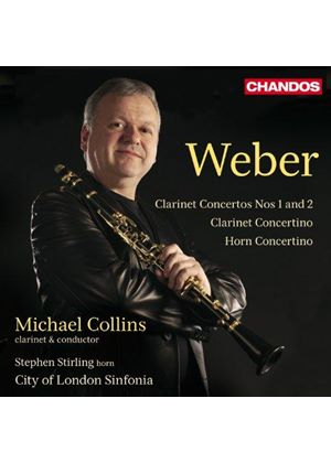 Weber: Clarinet Concertos Nos. 1 and 2; Clarinet Concertino; Horn Concertino (Music CD)