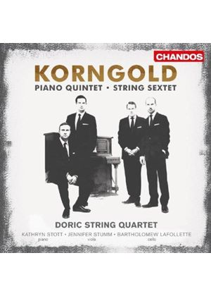 Erich Wolfgang Korngold: String Sextet; Piano Quartet (Music CD)