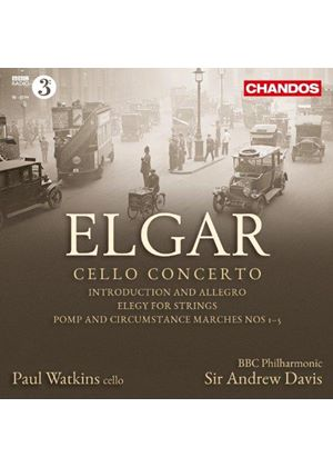 Elgar: Cello Concerto (Music CD)