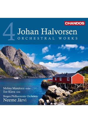 Johan Halvorsen: Orchestral Works, Vol. 4 (Music CD)