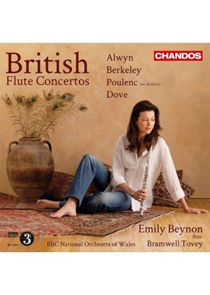 British Flute Concertos (Music CD)