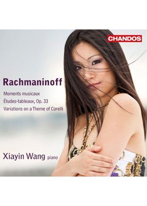 Rachmaninoff: Moments musicaux; Études-tableaux; Variations on a Theme of Corelli (Music CD)