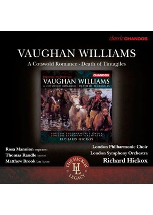 Vaughan Williams: A Cotswold Romance; Death of Tintagiles (Music CD)