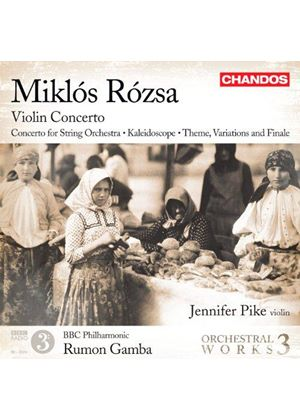 Miklos Rozsa: Violin Concerto (Music CD)