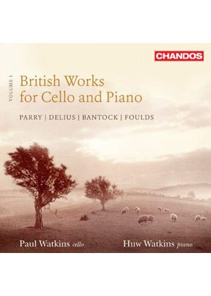 British Works for Cello & Piano, Vol. 1 (Music CD)