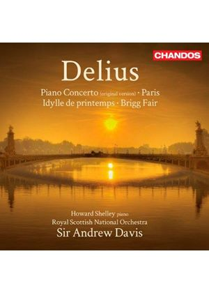 Frederick Delius: Piano Concerto; Paris Nocturne (Music CD)