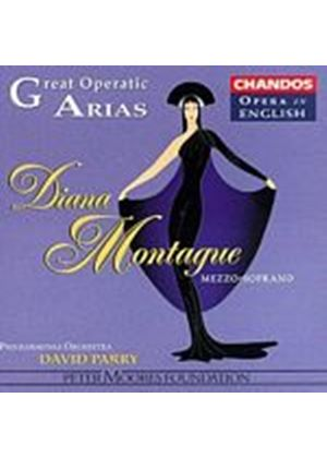 Diana Montague - Mezzo-Soprano Arias (Music CD)