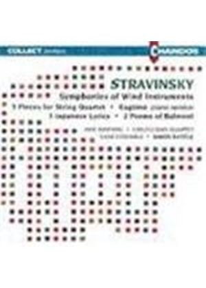 Stravinsky: Symphonies of Wind Instruments