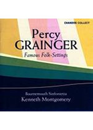 Percy Grainger - Famous Folk Settings (Music CD)