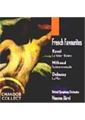 French Favourites - Ravel; Milhaud; Debussy