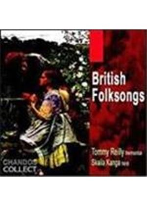 Tommy Reilly & Skaila Kanga - British Folksongs