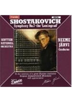 Dmitri Shostakovich - Symphony No. 7 - The Leningrad (Jarvi, Scottish NO) (Music CD)
