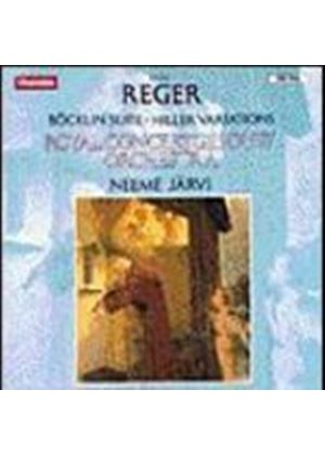 Max Reger - Bocklin Suite (Music CD)
