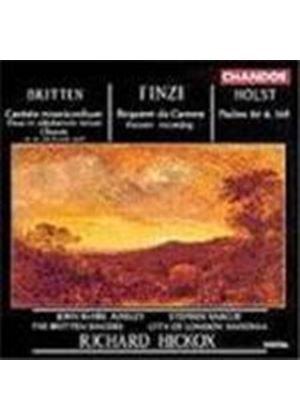 Britten, Finzi & Holst: Choral works