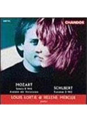 Mozart/Schubert: Piano Works for Four Hands